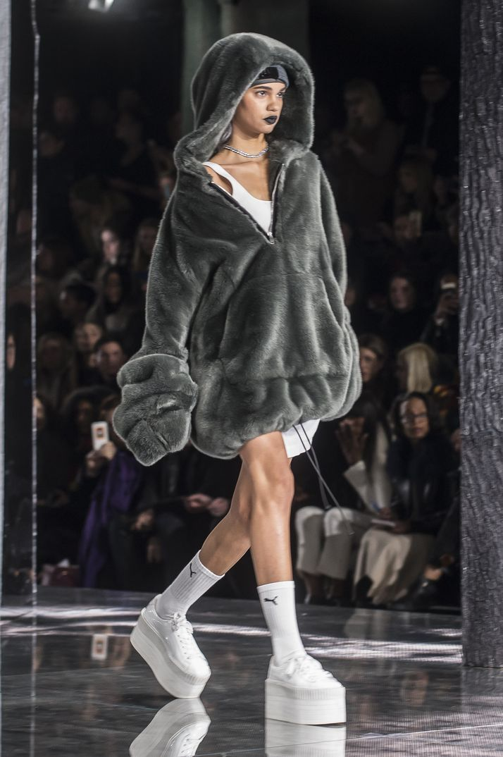 New York Fashion Week 2016 Fenty Puma By Rihanna Moda Ellas Pinterest
