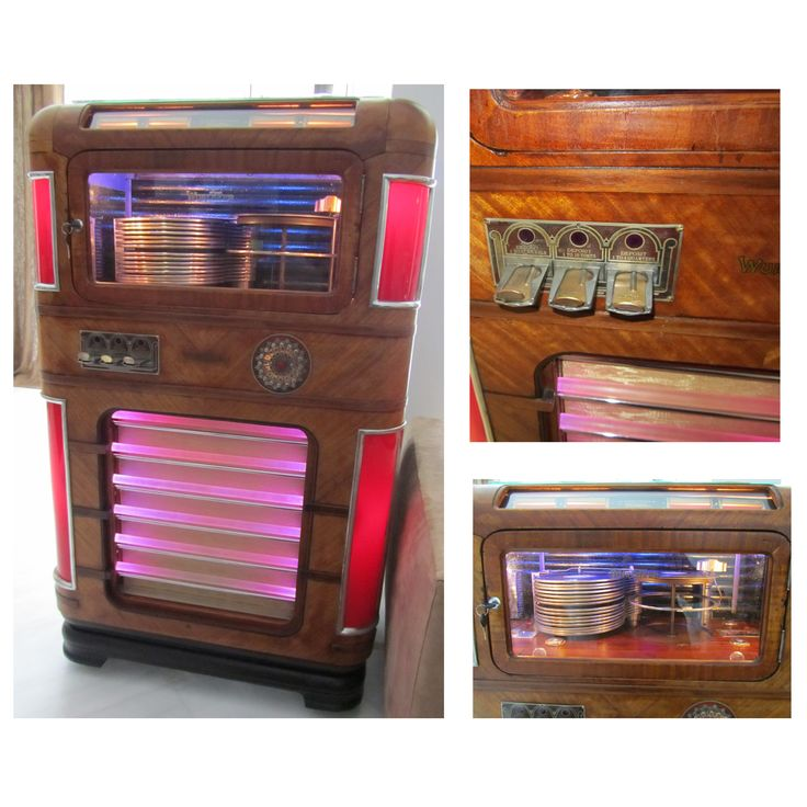 Jukebox Wurlitzer Model 412 - 1938