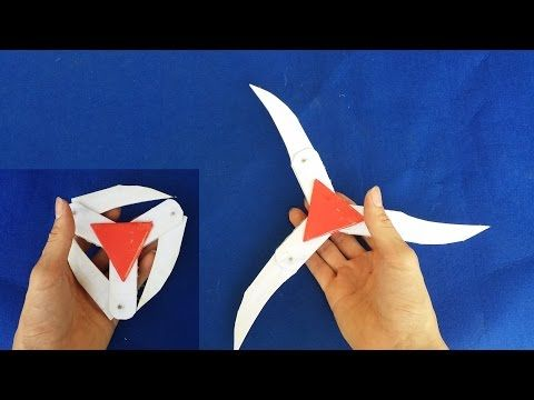 Como hacer una estrella ninja de papel | Shuriken - YouTube