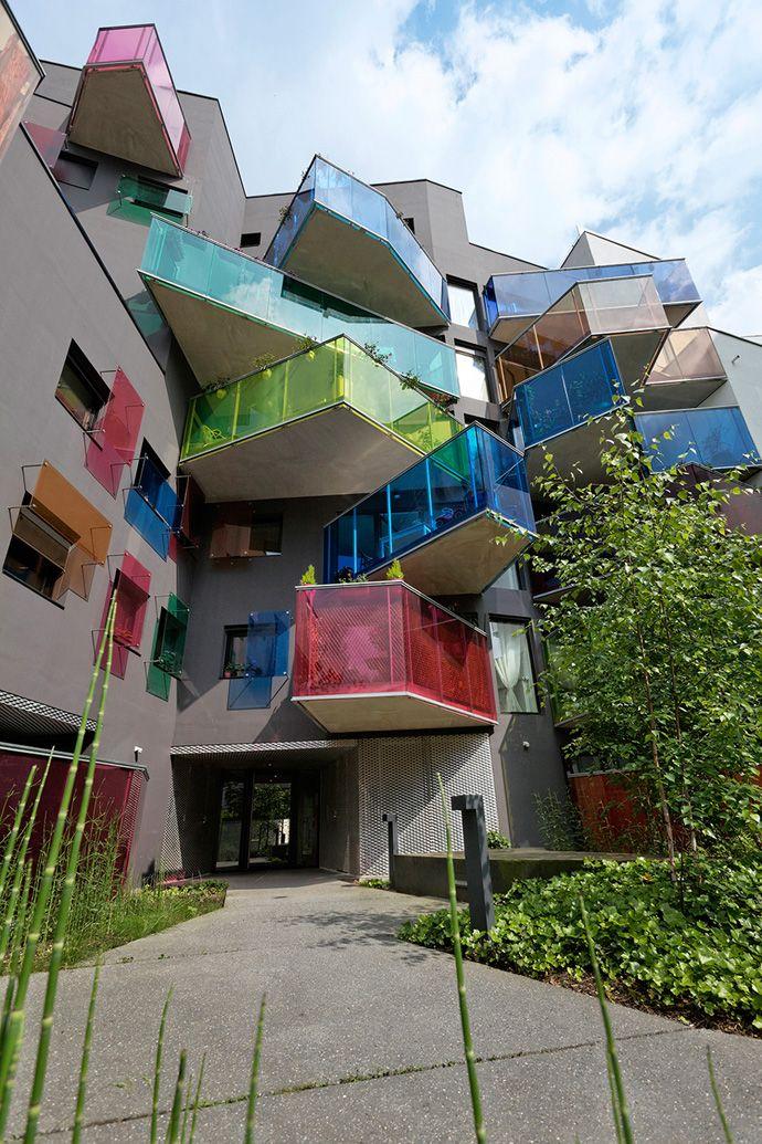 Seguin Apartment Building by Agence Bernard Bühler