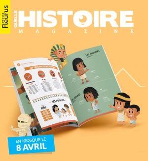 """Communiqué : Fleurus Presse et la startup """" Quelle Histoire """" lancent un nouveau titre de presse innovantLa start-up """" Quelle Histoire """", aujourd'hui..."""