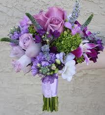 Ramo de novias en tonos lilas. Hermoso!!