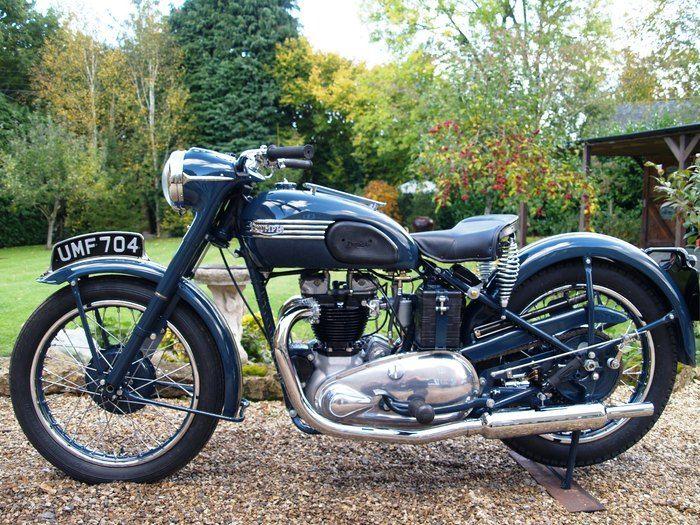 1950 triumph thunderbird for sale   1950 Triumph thunderbird : supreme motorworks diary