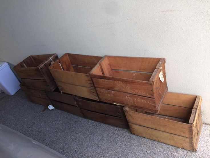 Vintage Wooden crates | Collectables | Gumtree Australia Boroondara Area - Kew East | 1131311608