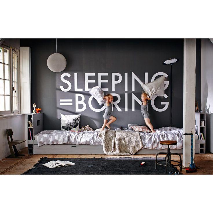 vtwonen Junior Store Bed incl. Matraslade - Hertog Grijs - vtwonen design online webwinkel