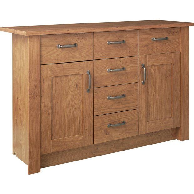 Buy Collection Ohio 2 Door 6 Drawer Sideboard