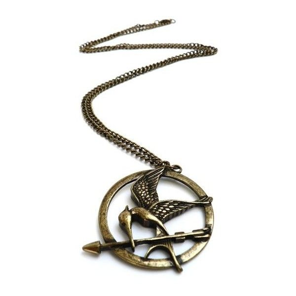 Collier geai moqueur Hunger Games Collier Femme ($14) ❤ liked on Polyvore featuring necklaces