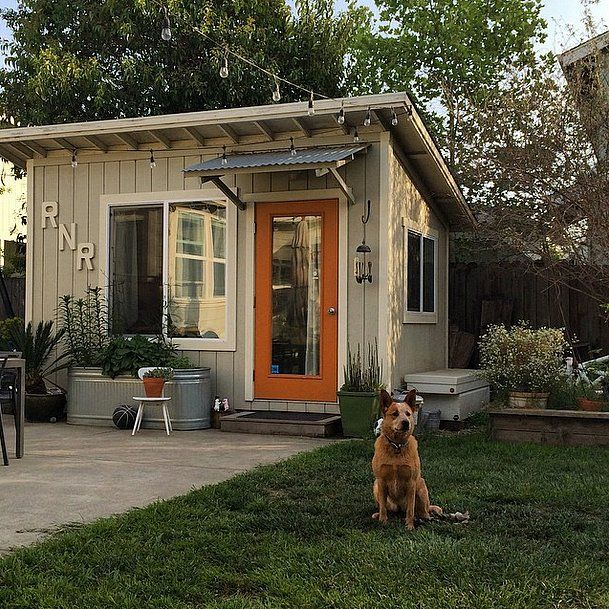 "These Supercute ""She Sheds"" Are Redefining Backyard Bliss: If men have ""man caves"" where they can escape, why shouldn't women have their own escapes?"