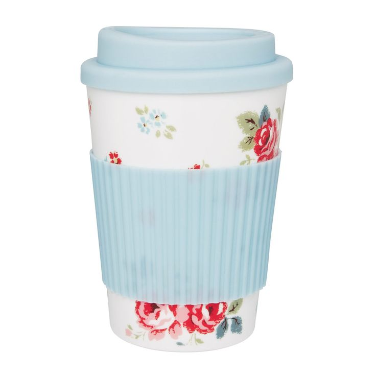 Cath Kidston travel coffee mug. Need this in my life.