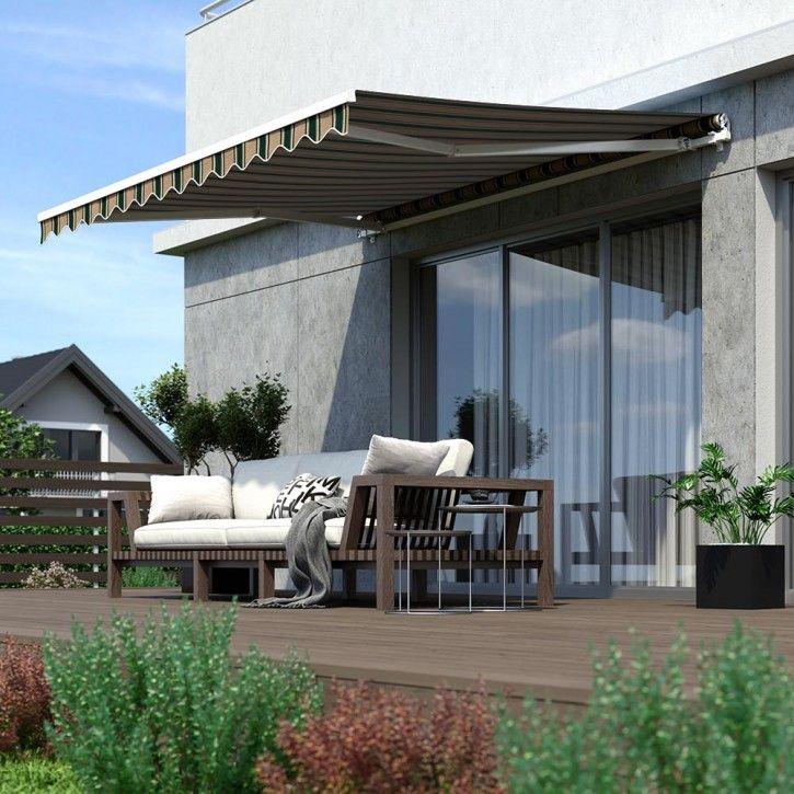 Zagiel Przeciwsloneczny Wodoodporny W Ksztalcie Kwadratu Outdoor Gardens Design Patio Outdoor Decor