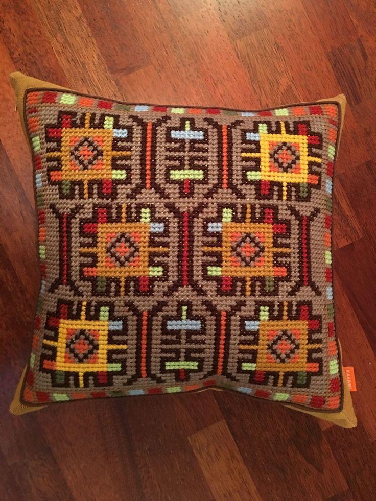 Купить Этно- калейдоскоп - подушка декоративная, декор для интерьера, декоративная подушка, подушка, купить подарок