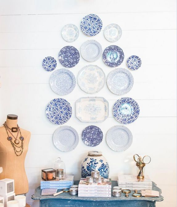 Wall Plates Home Decor : Best images about decorating with plates on