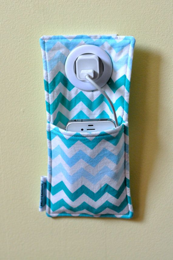 iPod Cell phone iPhone Fabric Charging by SpoonerSistersDesign, $10.00