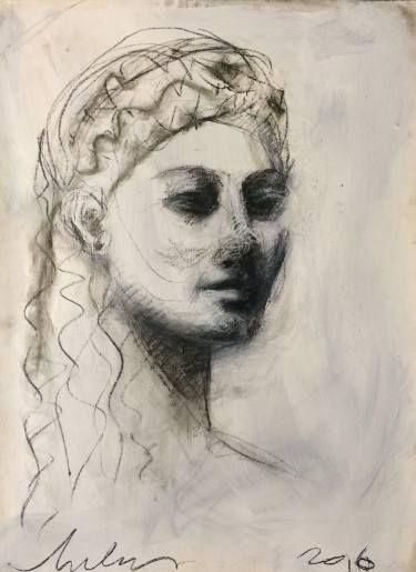 "Saatchi Art Artist melora walters; Drawing, ""Soyez Forts"" #art"