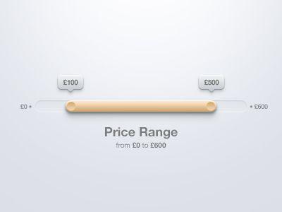 Range Selection by Piotr Kwiatkowski, via Behance