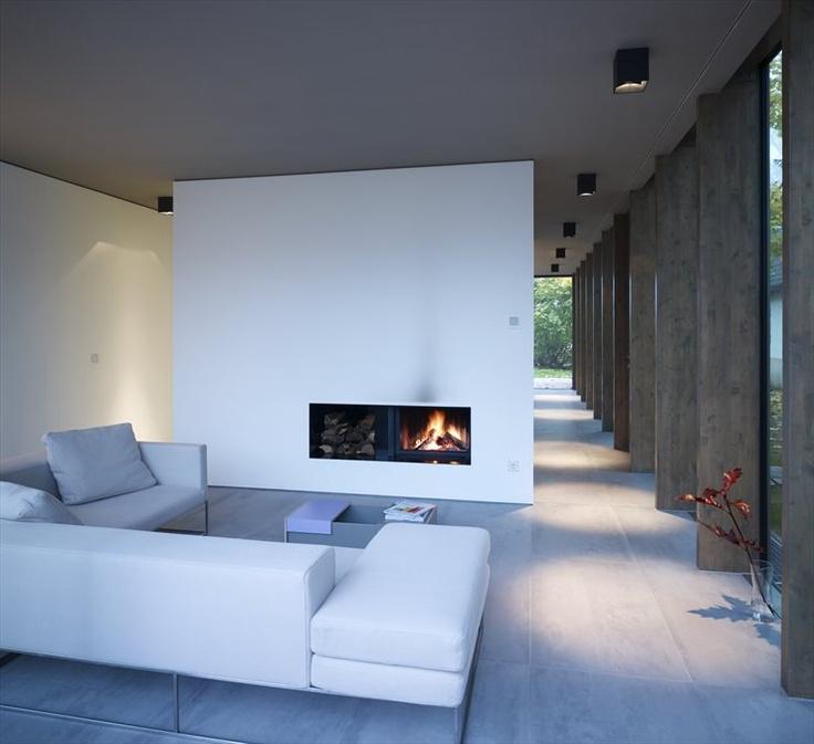 MINIMUM HOUSE  HEINZE ARCHITEKTENAWARD 2010  KLAUSDORF / GERMANY / 2008 by Ahlbrecht Felix Scheidt Kasprusch  #architecture #fireplaces #design