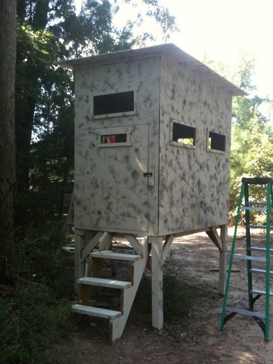 25 best ideas about deer stand windows on pinterest for Building deer blind windows