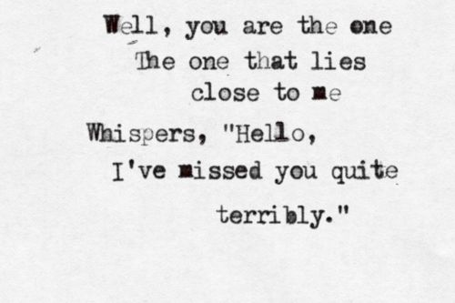 here (in your arms) hellogoodbye <3