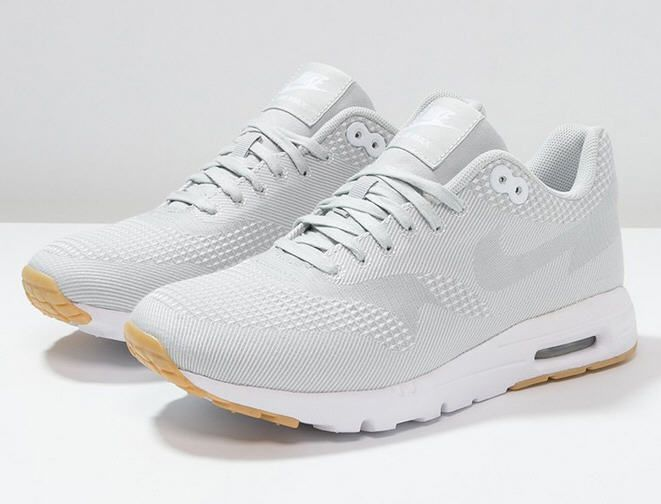 competitive price 169f1 26b61 ... netherlands bw usa nike sportswear air max 1 ultra baskets basses white  grey mist gum yellow