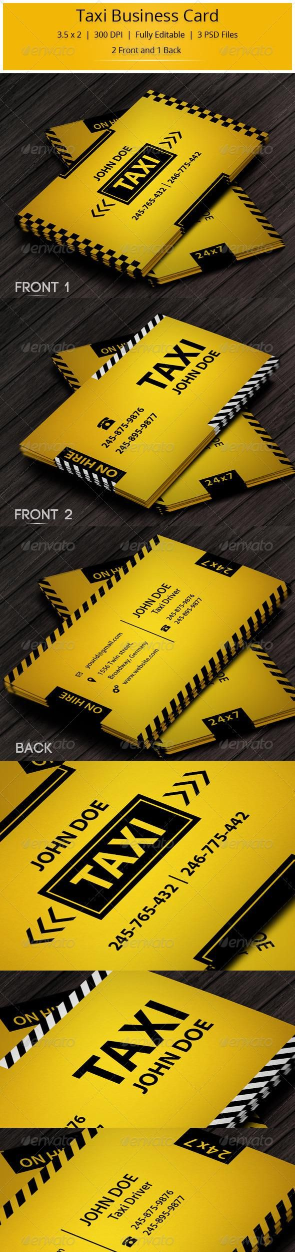 1676 best best business cards on pinterest images on pinterest taxi business card magicingreecefo Image collections