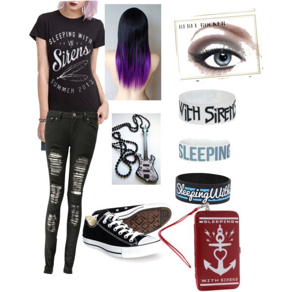 Sleeping With Sirens Polyvore