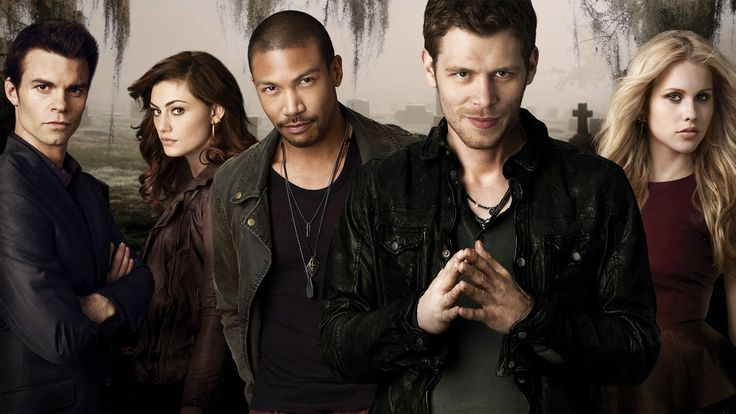 The Originals. I am enjoying this show so much since I can never get enough of Klaus. :)