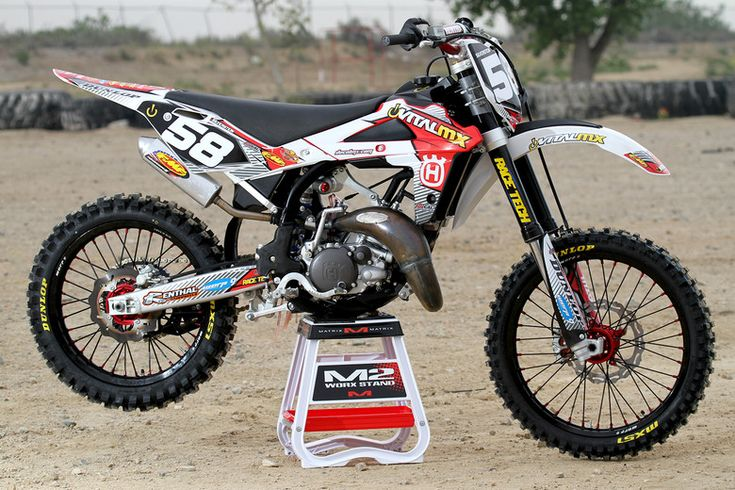 Vital Mx Custom Husqvarna Cr125 144 Big Bore Euro Dirt