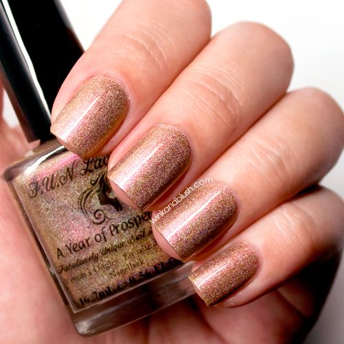 F.U.N Lacquer A Year Of Prosperity Nail Lacquer Review & Swatches—New Year Collex 2014   Wink And Blush