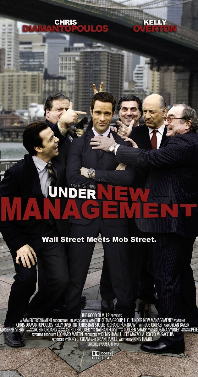 Directed by Joe Otting.  With Chris Diamantopoulos, Kelly Overton, Richard Portnow, Christian Stolte. Sparks and bullets fly when a Wall Street yuppie must steer a Brooklyn mob crew legit before a beautiful FBI agent can build RICO indictments against them.