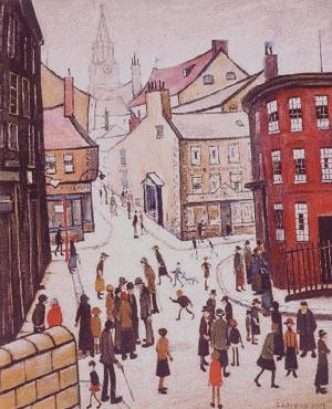 Berwick by L.S. Lowry (1887–1976)