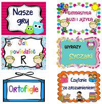 Szkolna witryna logopedyczno - ortograficzna. Logopedia i ortografia on-line. Blog dla dzieci i rodziców.