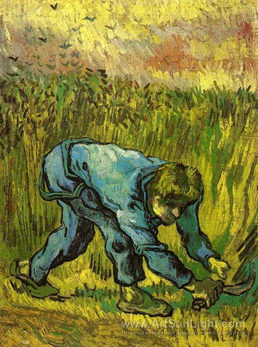Vincent van Gogh (1853-1890), The Reaper (after Millet), 1889. Van Gogh Museum, Amsterdam (Vincent van Gogh Stichting).
