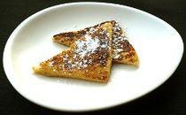 For breakfast or as desert: Dutch 'Wentelteefjes' with cinamon