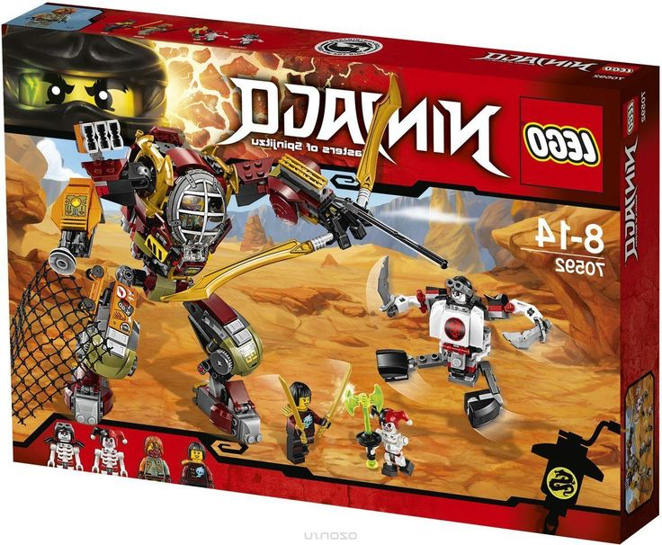 Lego Ninjago Конструктор Робот-спасатель 70592