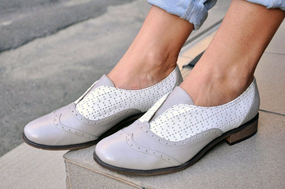 Saratoga Laceless Oxfords Womens Brogues Oxfords by JuliaBoShoes