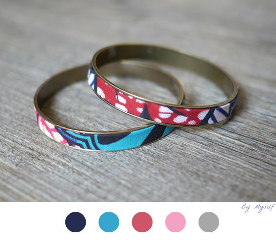 bracelet wax afraicain diy bijoux jewelry tuto tutoriel fabric tissu my diy. Black Bedroom Furniture Sets. Home Design Ideas