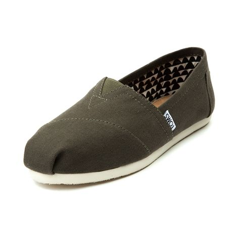 keep it stylishly simple with the new classic slip on casual shoe from toms the