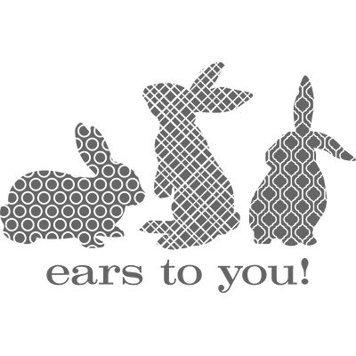 http://www.stampinup.com/ECWeb/ProductDetails.aspx?productID=132659 With trendy patterns and funky flair, bunnies have never been so bold! Use this stamp to spring into spring and stamp in style. So, ears to you and many hoppy times with these three bouncy bunnies.