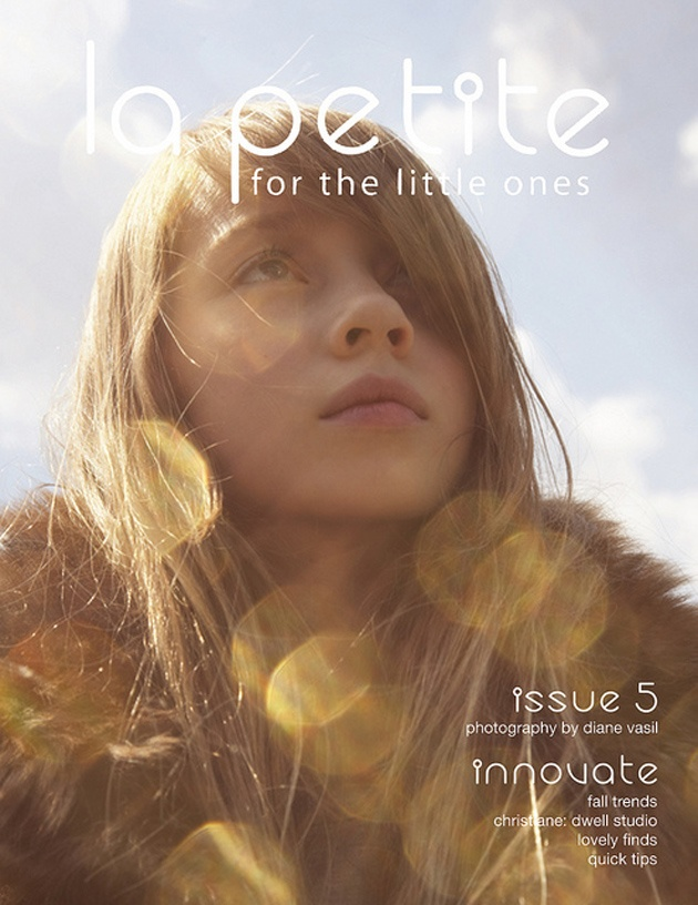 #kids #fashion #editorial Diane Vasil for La Petite Magazine