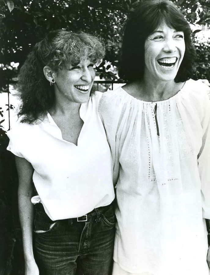 Bette Midler and Lily Tomlin