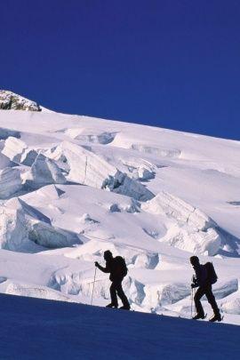 Backcountry skiing. #ski