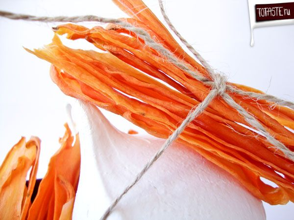 Carrot Crispy = Морковные чипсы