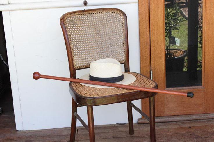 Redgum Knob Handle Walking Stick   Australian Woodwork   Australian Woodwork