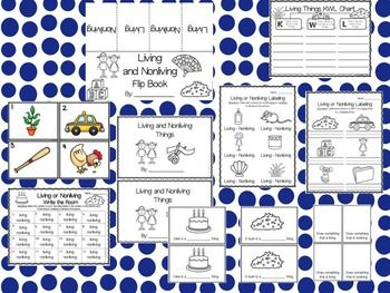 Living and Nonliving: A Science Unit by KaytieCasKinder   TpT