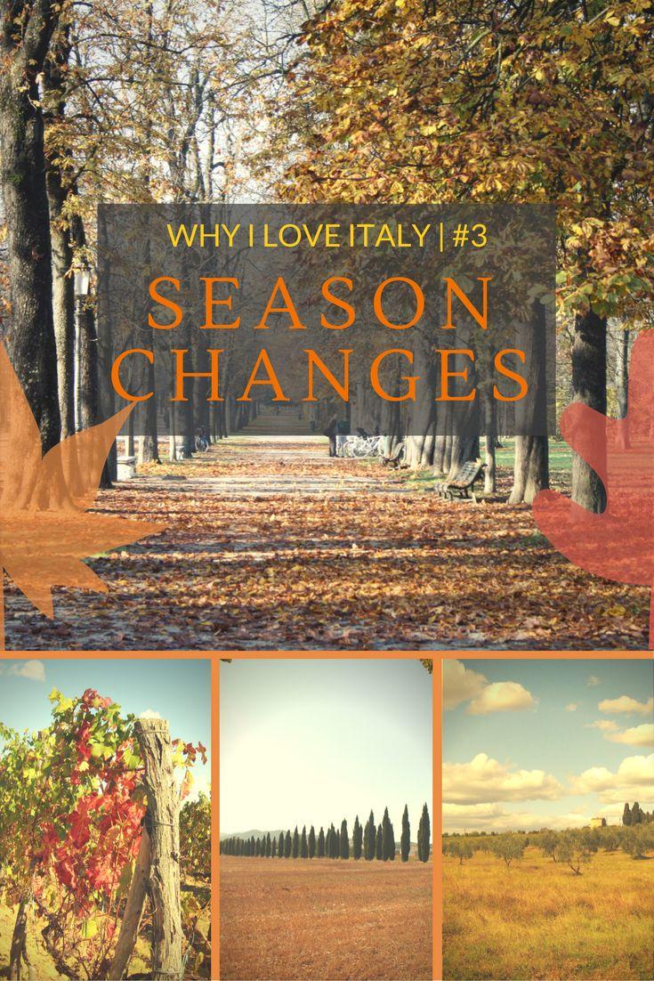 WHY I LOVE ITALY | #3 SEASON CHANGES www.theitalianwanderer.com