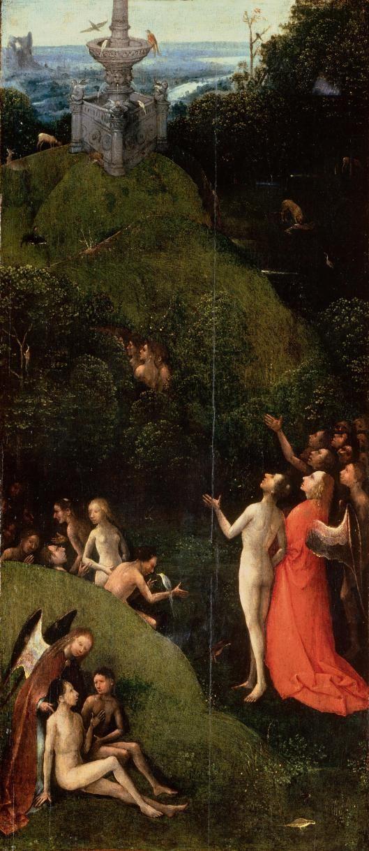 Hieronymus Bosch, El Paraiso Terrenal; Entre 1490 y 1516, Óleo sobre tabla…