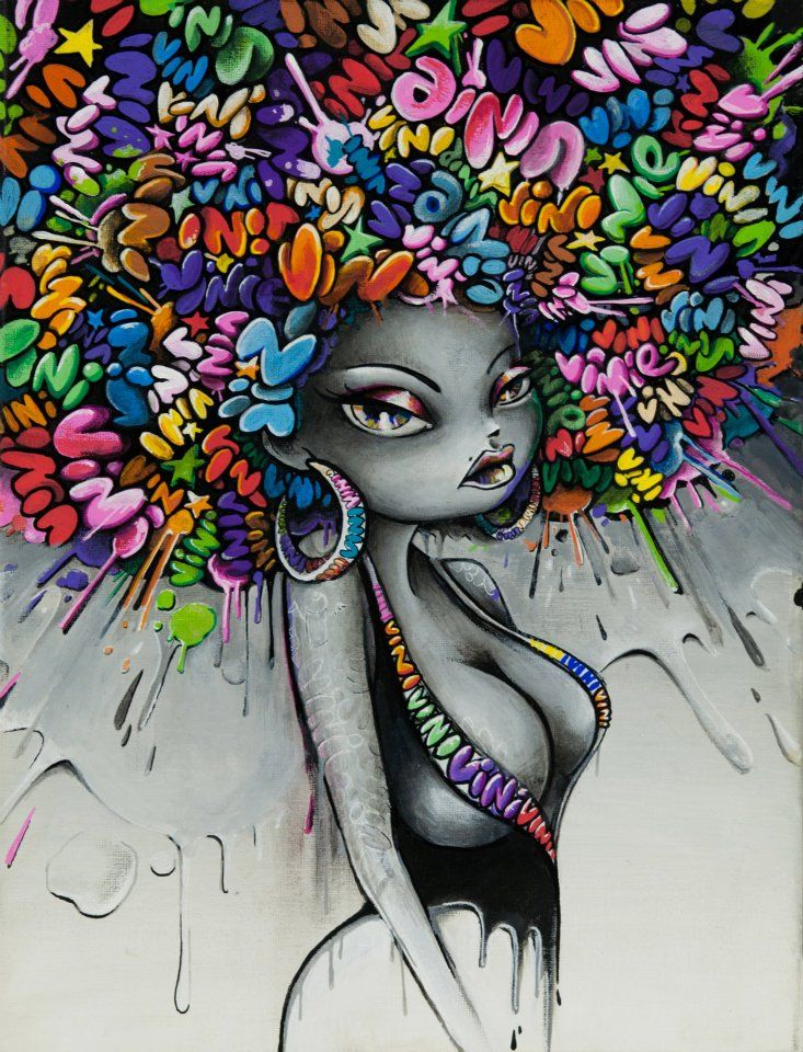 Vinie Graffiti  Funky Hair Spray  THE ART OF LIFE   Pinterest  Funky Ha