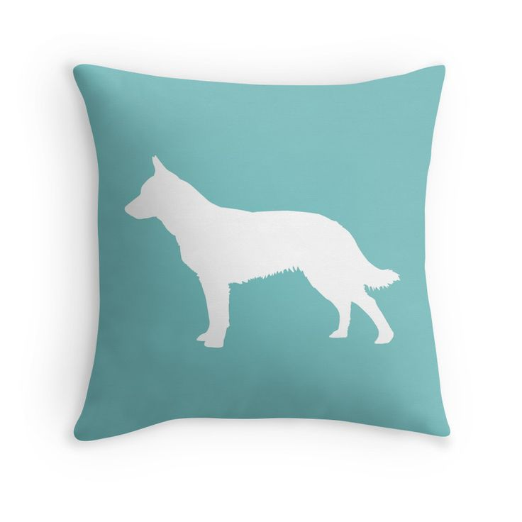 Blue Heeler Pet Silhouette by OutlineArt