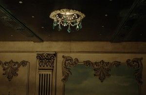 victorian recessed light trim with custom crystals