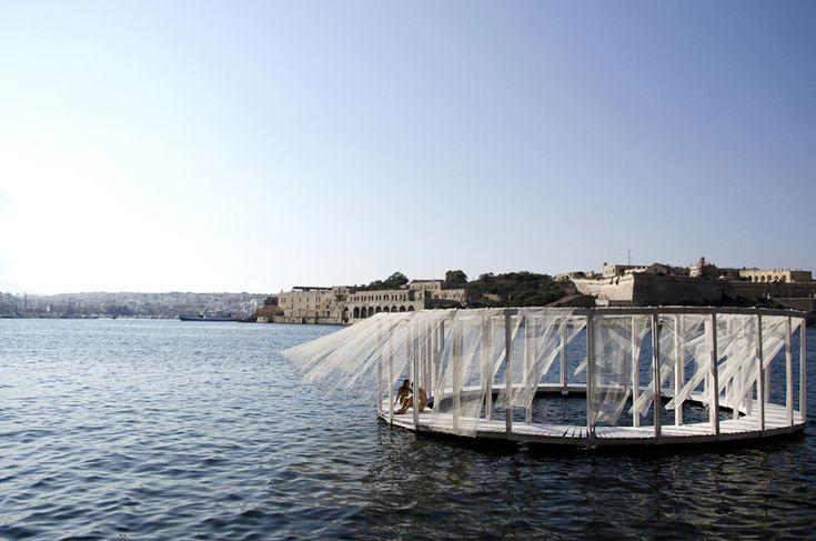Antiroom II , arquitectura flotante de Elena Chiavi, Ahmad El Mad y Matteo Goldoni